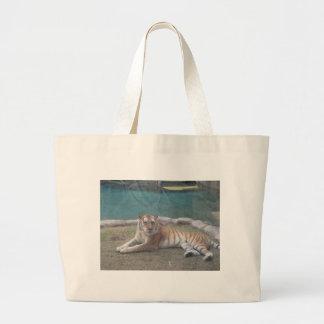 野生のトラの製品の範囲 ラージトートバッグ