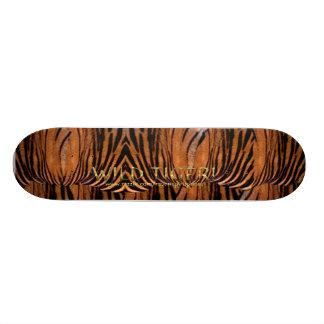 野生のトラIIのスケートボード 21.6CM オールドスクールスケートボードデッキ