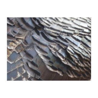 野生のトルコの羽IIの抽象的な自然のデザイン キャンバスプリント