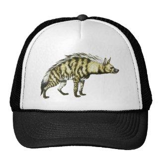 野生のハイエナ動物のイラストレーション トラッカーキャップ
