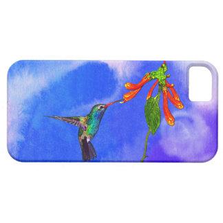野生のハチドリの鳥恋人の芸術シリーズ iPhone SE/5/5s ケース