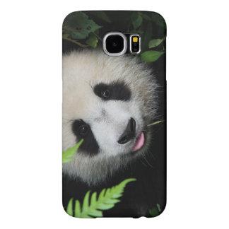 野生のパンダ SAMSUNG GALAXY S6 ケース