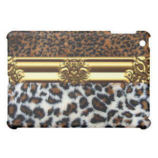野生のヒョウの毛皮のiPadの場合 iPad Mini Case