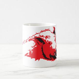 野生のブタ コーヒーマグカップ