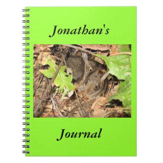 野生のベビーのバニージャーナル ノートブック