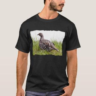 野生のライチョウの写真 Tシャツ