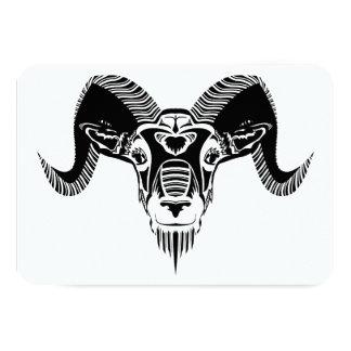 野生のラム 8.9 X 12.7 インビテーションカード