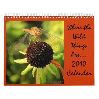 野生の事が…あるところ2010年 カレンダー