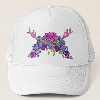 野生の事の野生の花の女王のトラック運転手の帽子 キャップ