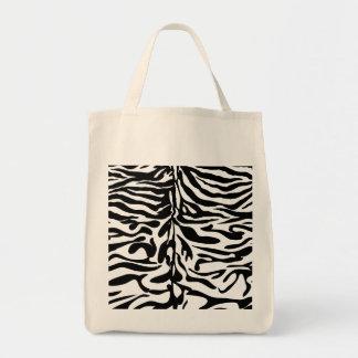 野生の事動物は縞で飾ります トートバッグ