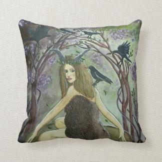 野生の動物群の魔法使いの芸術の枕 クッション