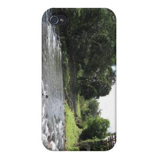 野生の南アメリカ-ヴィンテージ橋n川 iPhone 4 ケース