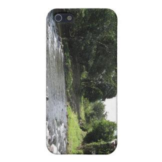 野生の南アメリカ-ヴィンテージ橋n川 iPhone 5 case
