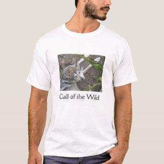 野生の呼出し Tシャツ