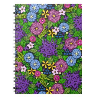野生の壁の花 ノートブック