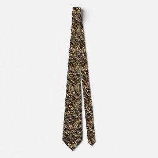 野生の模造のな毛皮のヒョウのスタイルの迷彩柄のプリント カスタムネクタイ