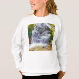 野生の滝 スウェットシャツ