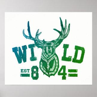 野生の生命Tシャツ ポスター