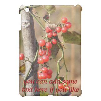 野生の秋の果実のiPadの場合 iPad Miniケース