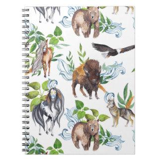 野生の精神のノート ノートブック