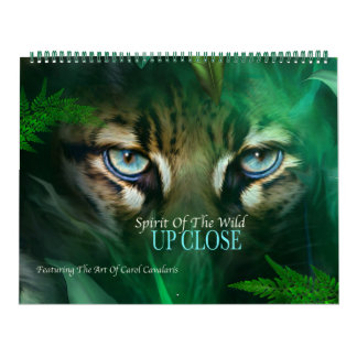 野生の精神-近い芸術のカレンダーの上の… カレンダー