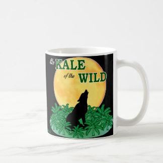 野生の緑葉カンラン コーヒーマグカップ