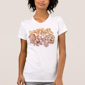 野生の美しい Tシャツ