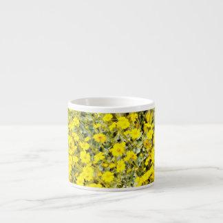 野生の花のエスプレッソのマグ エスプレッソカップ