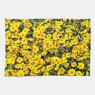 野生の花の台所タオル キッチンタオル