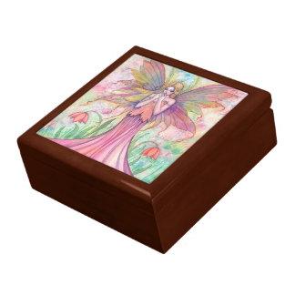 野生の花の妖精の装身具箱 ギフトボックス