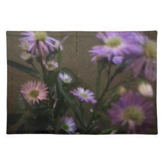 野生の花の紫色 ランチョンマット