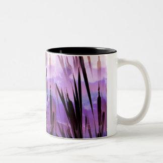 野生の花 ツートーンマグカップ