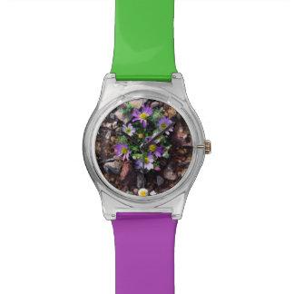 野生の花 腕時計