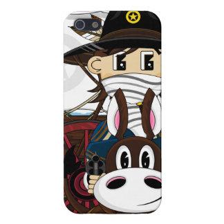 野生の西のカウボーイの保安官のiphoneの場合 iPhone 5 cover