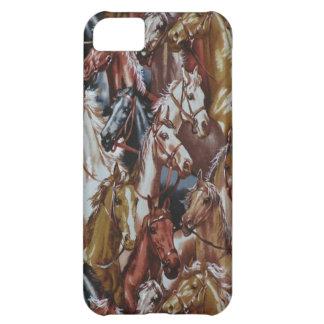 野生の西の馬のiPhone 5の場合 iPhone5Cケース