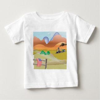 野生の西 ベビーTシャツ