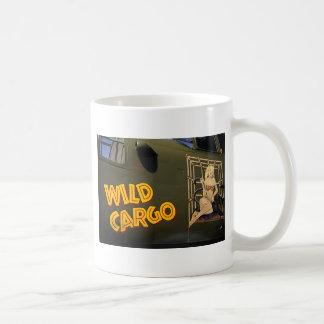 「野生の貨物」鼻の芸術 コーヒーマグカップ