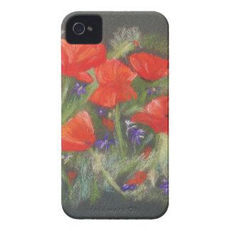 野生の赤いケシの表示 iPhone 4 Case-Mate ケース