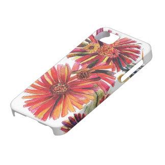 野生の赤いデイジーの花束 Case-Mate iPhone 5 ケース