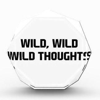 野生の野生の思考 表彰盾