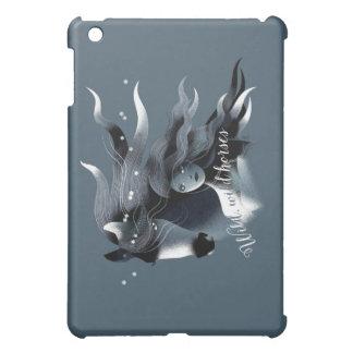 野生の馬および女の子 iPad MINI CASE