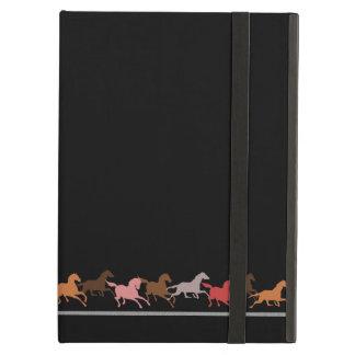 野生の馬の走ること iPad AIRケース