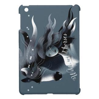 野生の馬のiPadの場合 iPad Miniケース