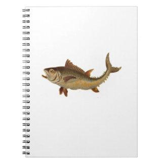 野生の魚のノート ノートブック