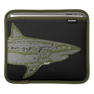 野生の鮫 iPadスリーブ