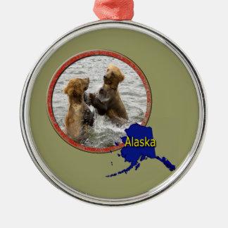 野生アラスカ メタルオーナメント