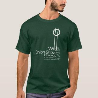 野生タマネギ果樹園ADFのティー-暗闇 Tシャツ