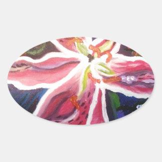 野生ユリ2.jpg 楕円形シール