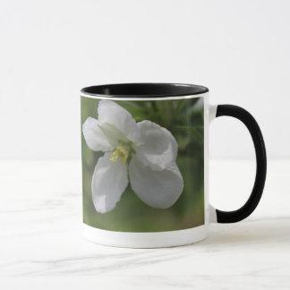 野生リンゴの花のマグ マグカップ