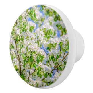 野生リンゴの花 セラミックノブ